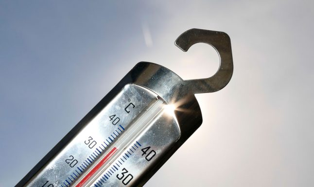 Sweden's temperature increasing more than the global average