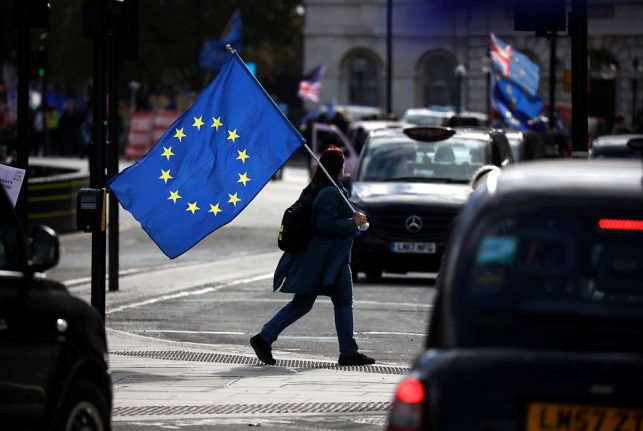 Denmark proposes legislation for UK citizens' rights in event of no-deal Brexit