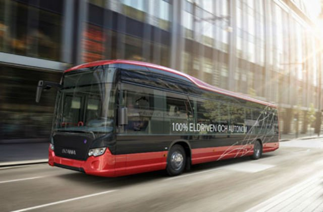 Self-driving buses to hit Swedish public roads next year