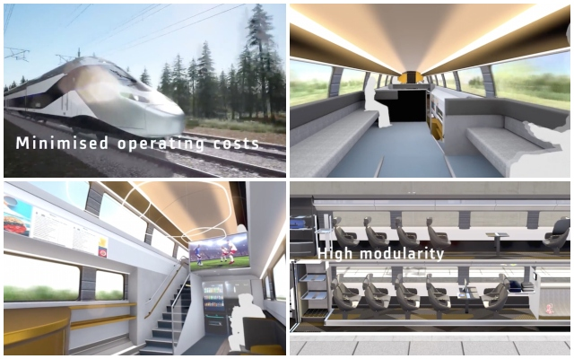 What France's high-speed TGV trains will look like in the future