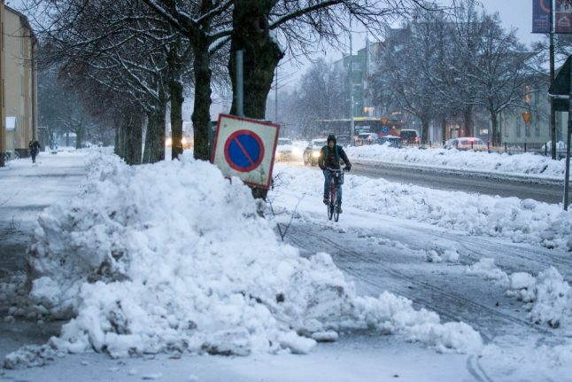 'Stay at home': Swedish emergency services warn public as weather worsens