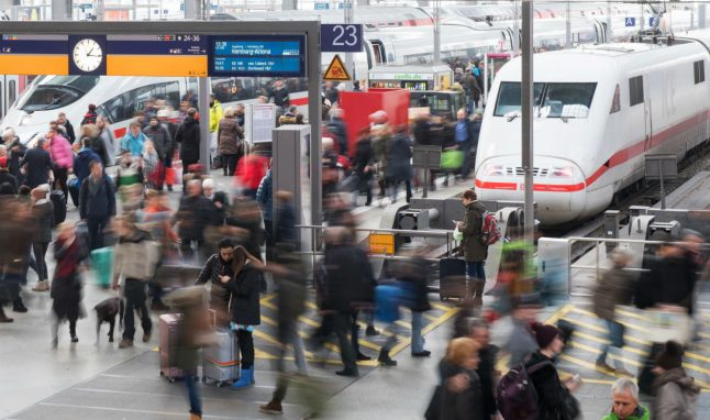 Rail passengers in Germany paid €53.6 million compensation over late trains
