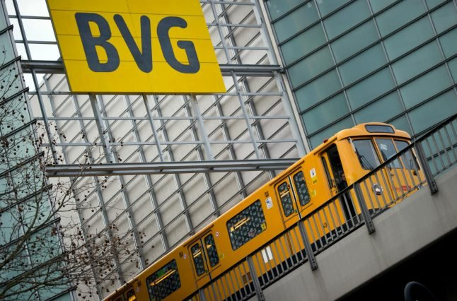 Berlin public transport to come to standstill Friday amid strikes