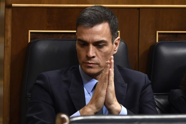 Will Pedro Sanchez be forced to call early elections?