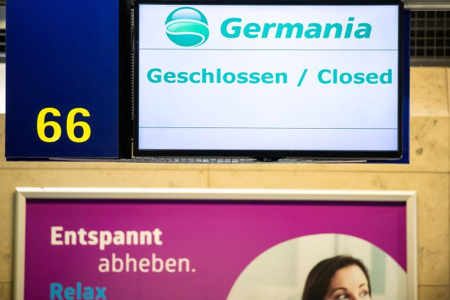 260,000 cancelled Germania flight bookings won't be refunded