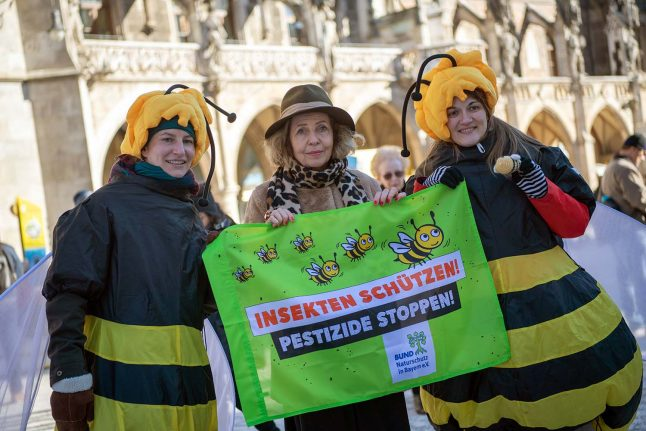On heels of Bavaria victory, Germany plans insect protection law