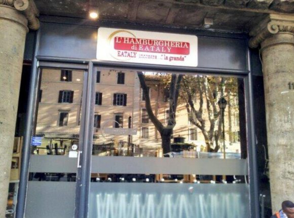 Eataly burger bar seized in anti-fraud operation