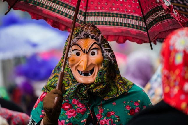 Fasching: Tracing the roots of south Germany's 'dark carnival'