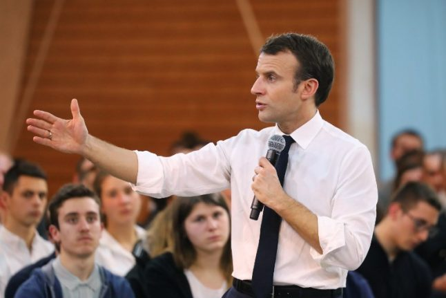 FOCUS: Will France's Macron really risk a referendum?