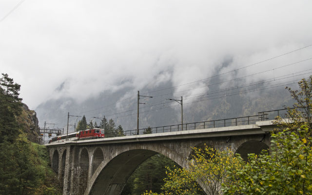 Swiss railway worker killed by moving train in Ticino