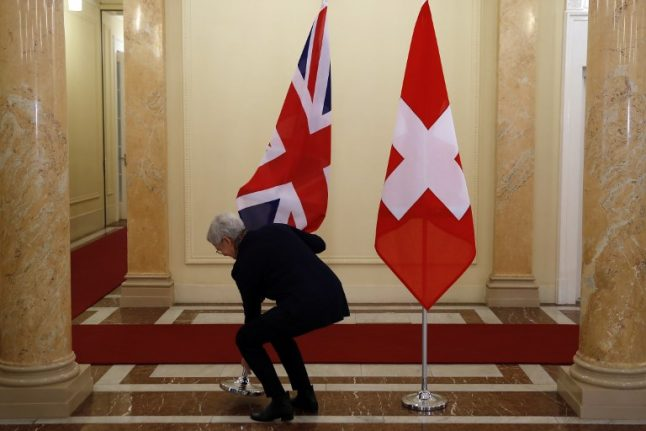 Switzerland to set quotas for Brits in event of no-deal Brexit