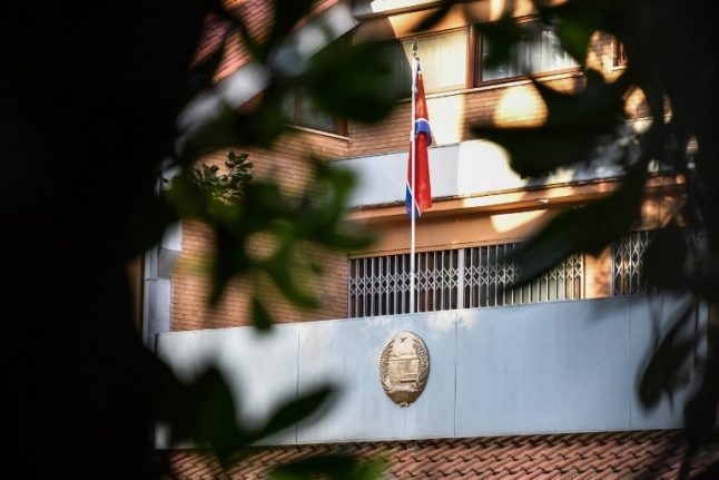 North Korea accused of kidnapping former ambassador's daughter in Rome