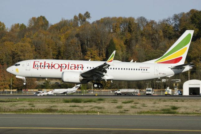 Germany bans plane model involved in deadly Ethiopia crash from airspace
