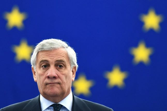 'Mussolini did some positive things': Italian head of European parliament