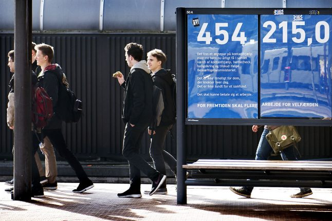 Fewer people receiving social welfare payment in Denmark: ministry