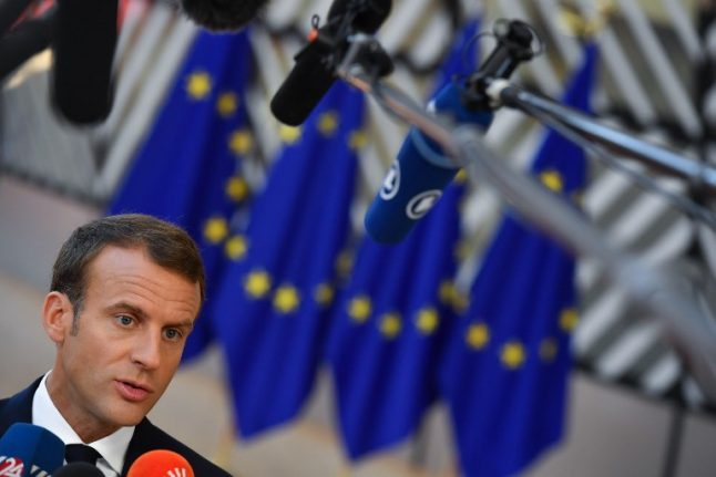 'Brexit is the symbol of Europe's crisis': Macron outlines vision for EU's future