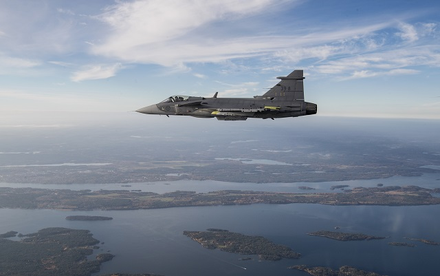 Swedish weapons exports have fallen over the past decade