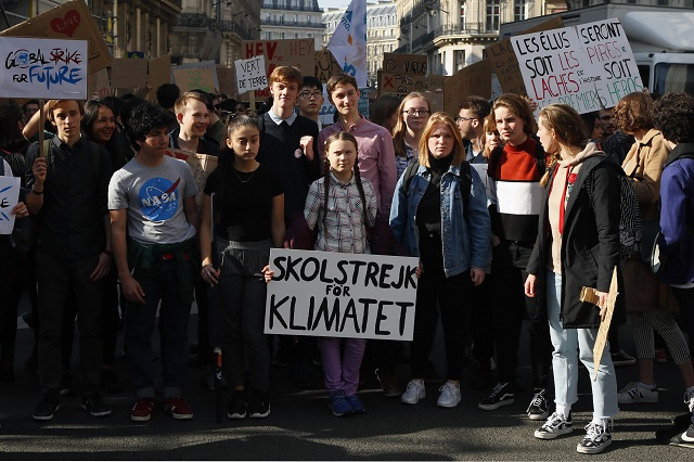 Thousands of climate strikes planned on Friday, inspired by Sweden's Greta Thunberg