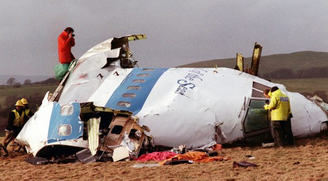 Former East German 'Stasi' agents questioned over Lockerbie bombing