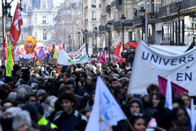 Schools, transport, hospitals: How Tuesday's national strikes in France could affect you