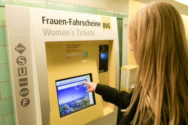 Berlin offers women cheaper transport tickets for 'Equal Pay Day'