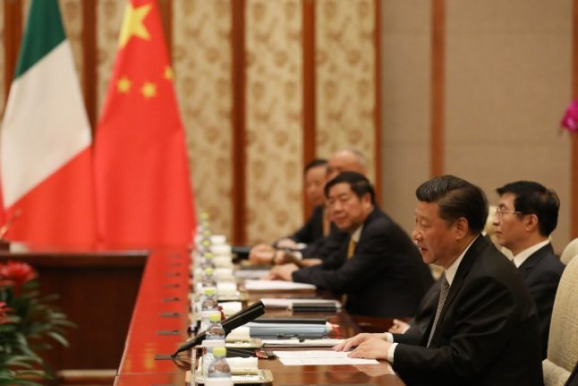 Chinese president to visit Italy as Rome backs 'Silk Road' deal