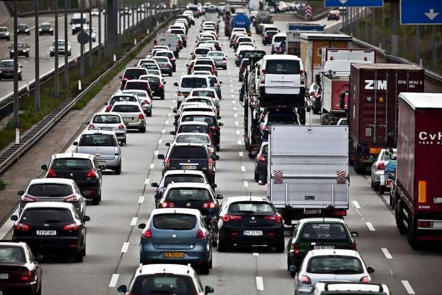 Here's what to expect from Denmark's Easter holiday traffic