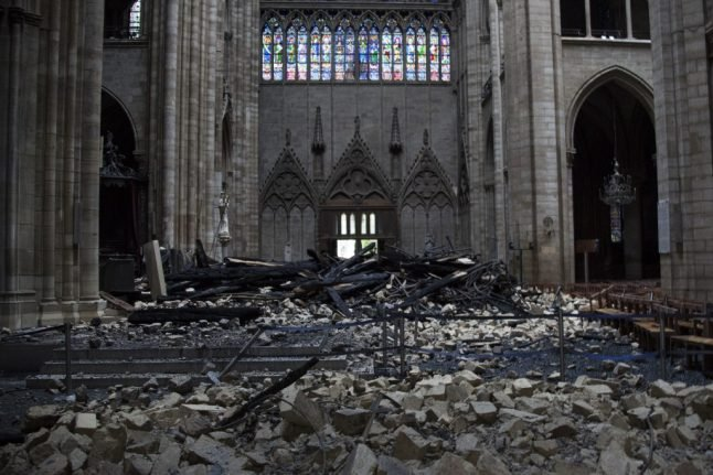 Italy offers to help rebuild Notre-Dame