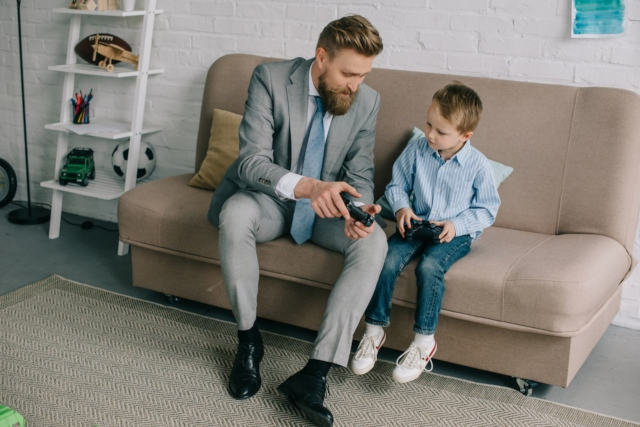 Swiss fathers increasingly likely to work part time
