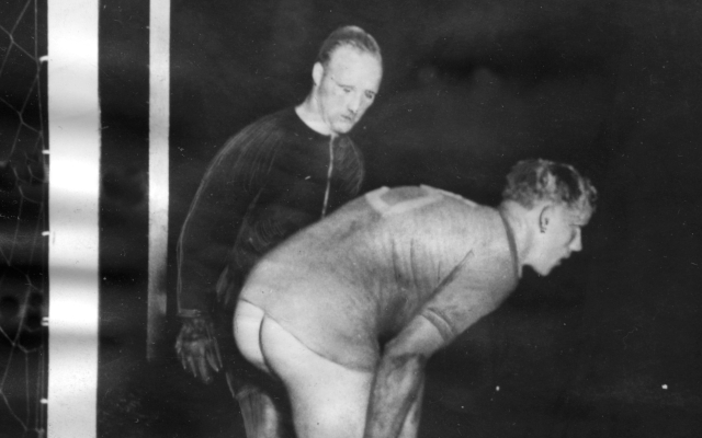 The day a naked Swedish footballer caused an unexpected scandal