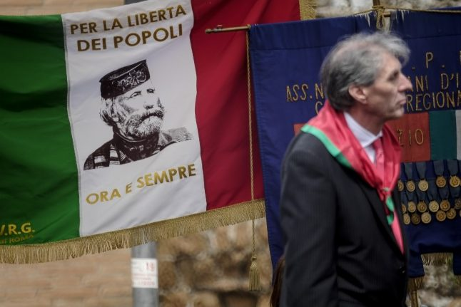 Memorials to Italian Resistance vandalized on Liberation Day