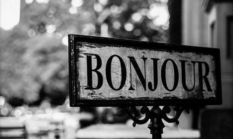 Bonjour: Why this is by far the most important word in French