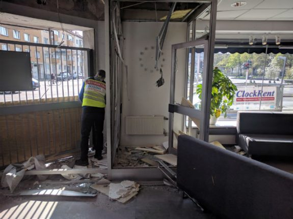 Malmö driving school hit by blast: 'We want to know why this happened'