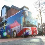 From west Germany to Westminster: Unbrexit bus makes first solidarity trip