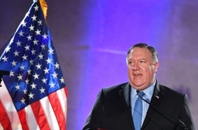 Pompeo to make up Germany talks on Europe trip