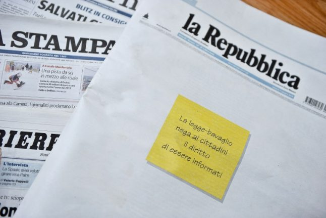 What you need to know about press freedom in Italy