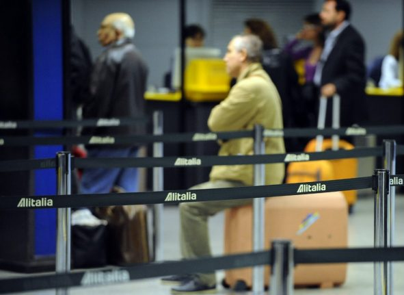 Alitalia strike: Half of flights to and from Italy cancelled