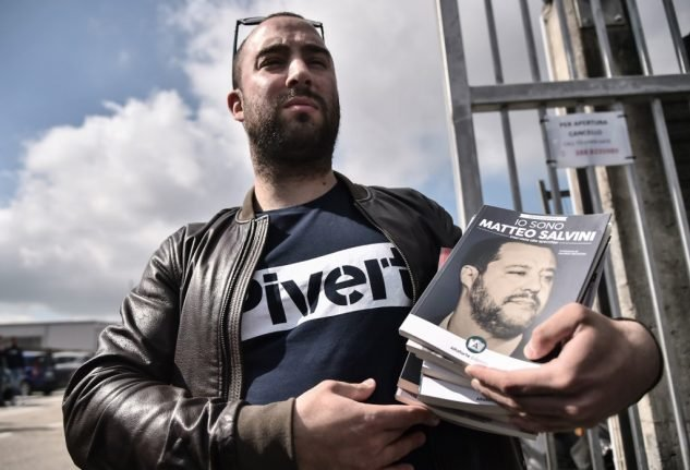 Neofascist publisher barred from Turin book fair