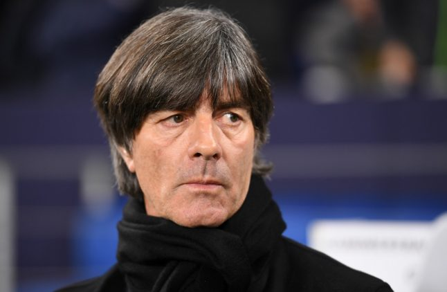 Germany coach Jogi Löw taken to hospital after accident