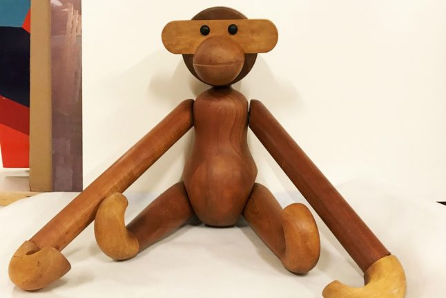 Iconic monkey returned to Danish art museum after theft