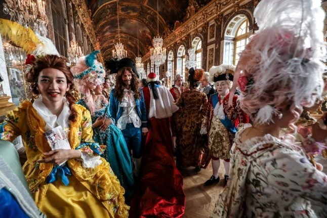 IN PICTURES: Versailles hosts dazzling period costume homage to French royalty