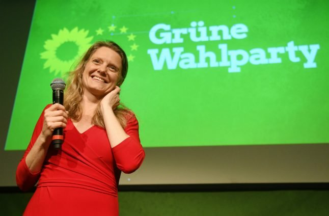 'Sunday for Future':  Germany's Greens celebrate double-digit score in EU vote
