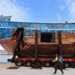 Migrant death ship to be shown at Venice art fair