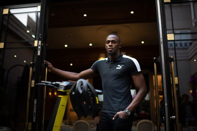 Sprint superstar Usain Bolt jumps into Paris' crowded electric scooter market
