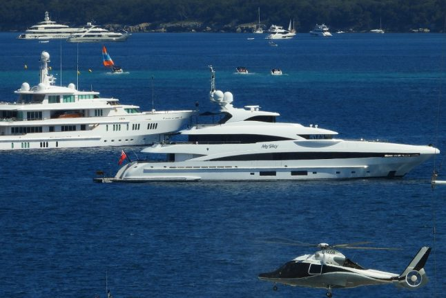 Briton dies as yachts collide off Cannes