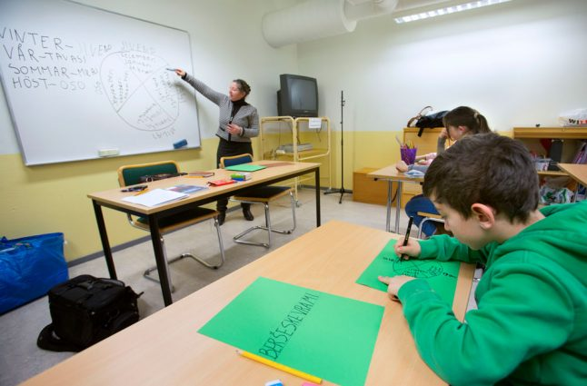 Sweden considers expanding mother tongue education