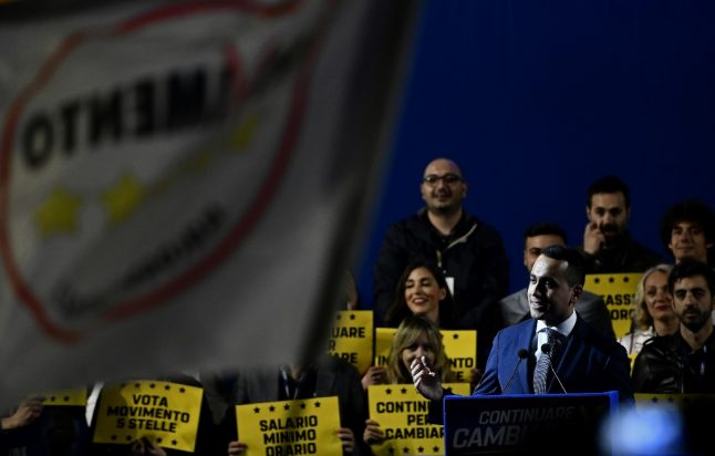 Italy's Five Star Movement votes to keep Luigi Di Maio as leader