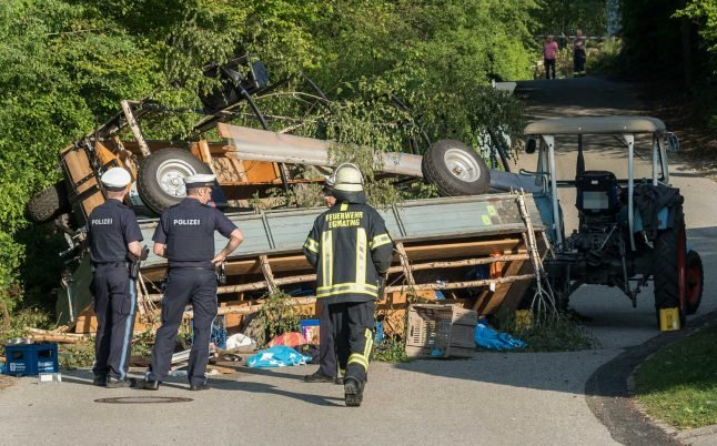 More than 20 people injured during May Day outing in Bavaria