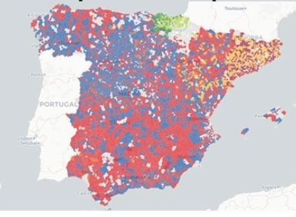 MAP: Who's running your local council in Spain?