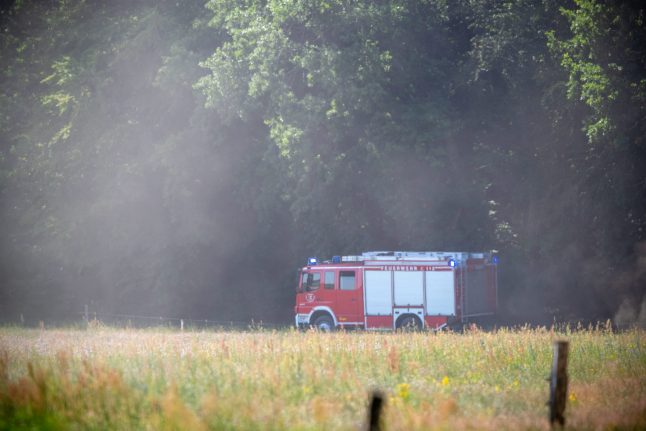 Two army Eurofighter jets collide in northern Germany